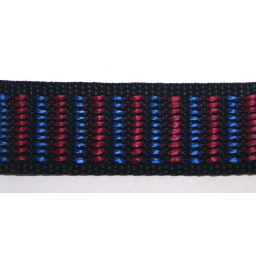 Стропа черно-сине-красная