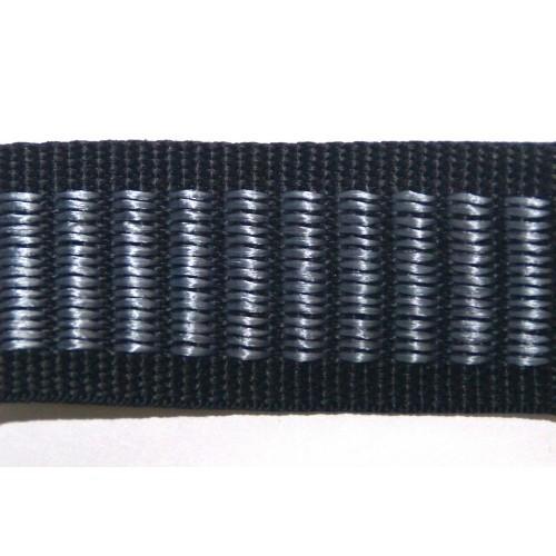 Стропа черно-серая