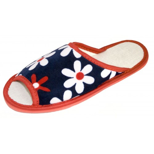 Туфли домашние детские с открытым носом