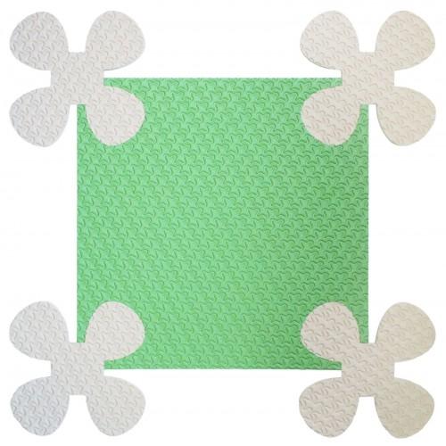 Мягкий детский конструктор «покрытие напольное ромашки»