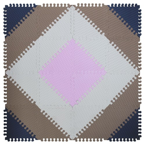 Мягкий детский конструктор «покрытие напольное треугольники»