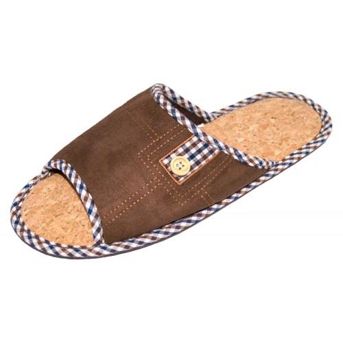Туфли домашние мужские открытые TY-1047