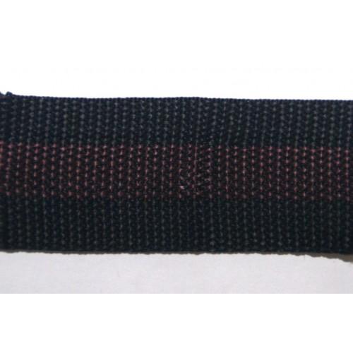 Стропа  черно-коричневая